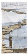 Rock Lake Crossing Beach Towel