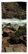 Rock Rush Glen Alpine Creek Beach Towel