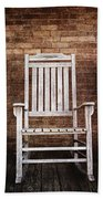 Rocking Chairs Beach Towel