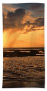 Rockpool Sunset Beach Towel
