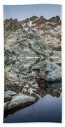Rocks And Reflections Beach Towel