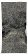 Rocks And Sand  Beach Towel
