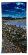 Rocky Beach In Western Canada Beach Towel