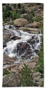 Rocky Mountain Falls Beach Towel