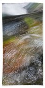 Rocky Riverbed Beach Towel