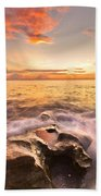 Rocky Surf Beach Towel