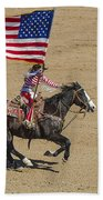 Rodeo Colors - A Beach Towel