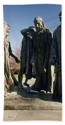Rodin: Burghers Of Calais Beach Towel
