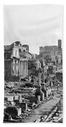 Roman Colosseum - Italy -  C 1906 Beach Towel