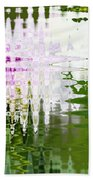 Romance In Paris - Abstract Art Beach Towel