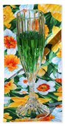 Romantic Emerald Beach Towel