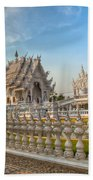 Rong Khun Temple Beach Towel