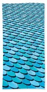 Roof Panels Beach Towel