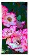 Rose 130 Beach Towel by Pamela Cooper