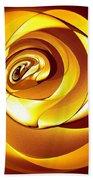 Rose Series - Gold Beach Towel