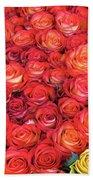 Roses Roses Roses Beach Towel