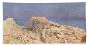 Roussillon Landscape Beach Towel