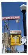 Route 66 Canyon Club Beach Towel