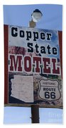 Route 66 Copper State Motel Beach Towel