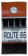 Route 66 Corvette Grill Beach Towel