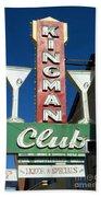 Route 66 Kingman Club Beach Towel