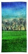 Row Of Trees Beach Sheet