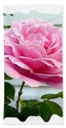 Royal Kate Rose Beach Towel