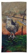 Ruffed Grouse Beach Towel
