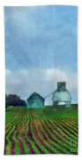 Rural Farm Beach Towel