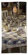 Rural Table Setting For Four No.3121 Beach Towel