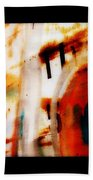 Rusted Paint Beach Towel