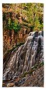Rustic Falls Beach Towel