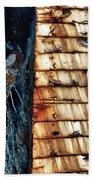 Rusting Boat Anchor Beach Towel