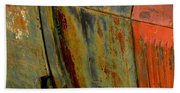Rusty Abstract Beach Towel