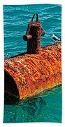 Rusty Bobber Beach Towel