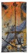 Rusty Crow  Beach Towel