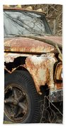 Rusty Ford Beach Towel
