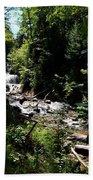 Sable Falls Grand Marais Mi Beach Towel