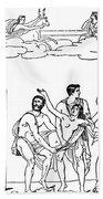 Sacrifice Of Iphigenia Beach Towel