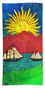 Safe Harbor Beach Towel