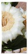 Saguaro Cactus Flowers Beach Towel