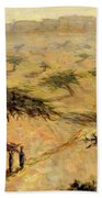 Sahelian Landscape Beach Towel by Tilly Willis
