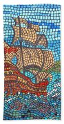 Sailing Home Beach Towel
