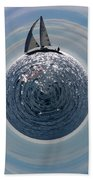 Sailing The World Beach Towel