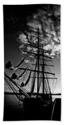 Sails In The Sunset Beach Towel
