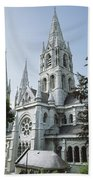 Saint Finbarres Cathedral, Cork City Beach Towel