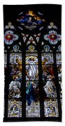 Saint Johns Stained Glass Beach Towel