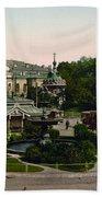 Saint Michael Monastery In Kiev - Ukraine - Ca 1900 Beach Towel