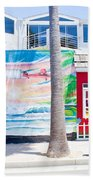Salt Water Taffy Panorama Balboa California Beach Towel