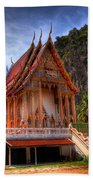 Sam Roi Yot Temple Beach Towel